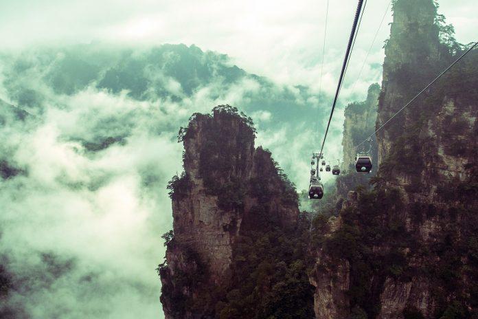 Heaven's Gate Mountain di Zhangjiajie