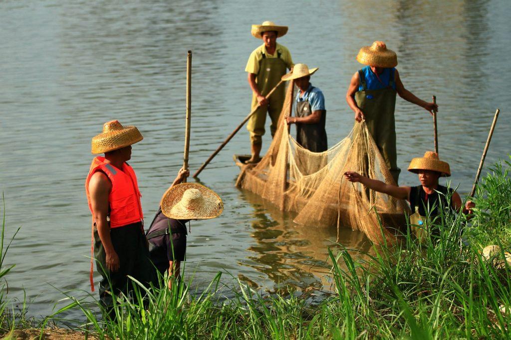 Nelayan di Zhuhai