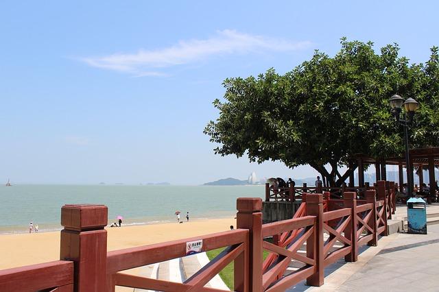 pantai di Zhuhai