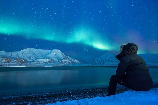 Piknik ke Kutub Utara aurora