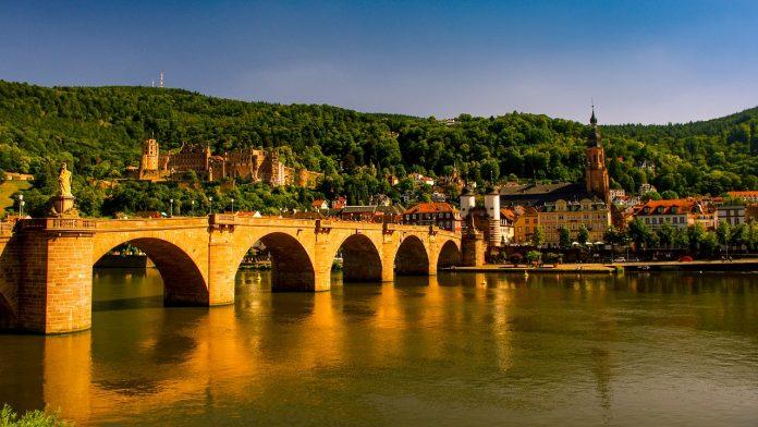 Kota Tua Heidelberg Jerman