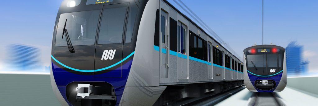 Resmi Dibuka, MRT Jakarta Ramai Diserbu Penumpang 1
