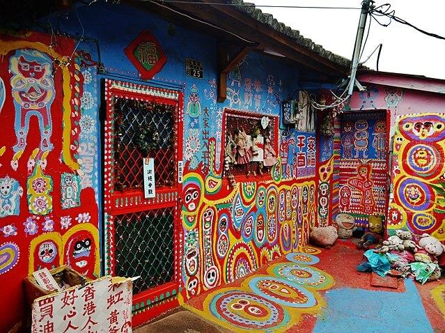 <i>Nyeni Banget!</i> Rainbow Village, Desa Mural di Taiwan yang Instagramable 1