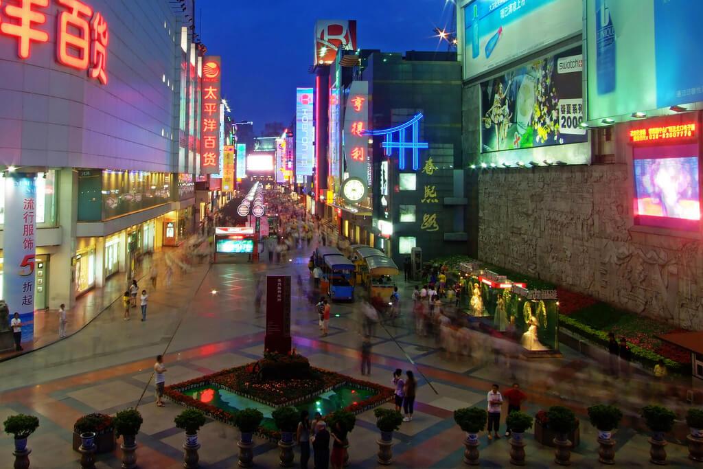 Kota di China