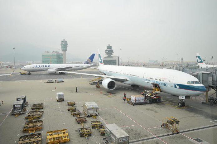 Penerbangan ke Hong Kong