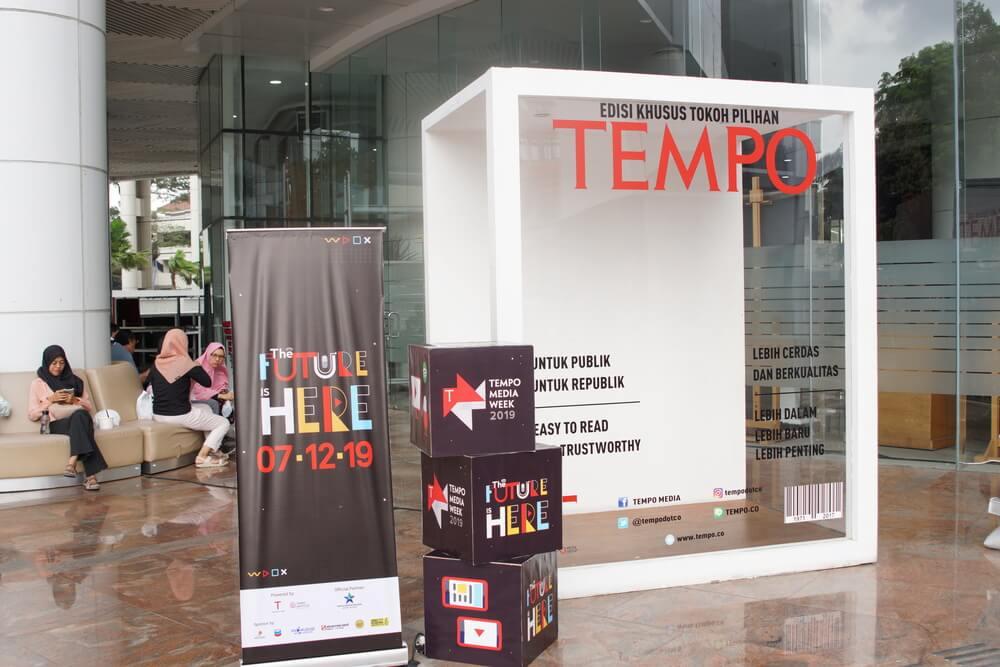 Digelar, Sibuk Liburan Ikut Pameran di Tempo Media Week 1