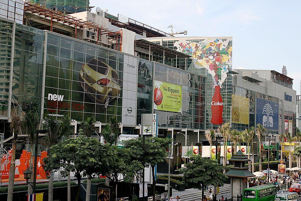 Perbelanjaan di Bangkok