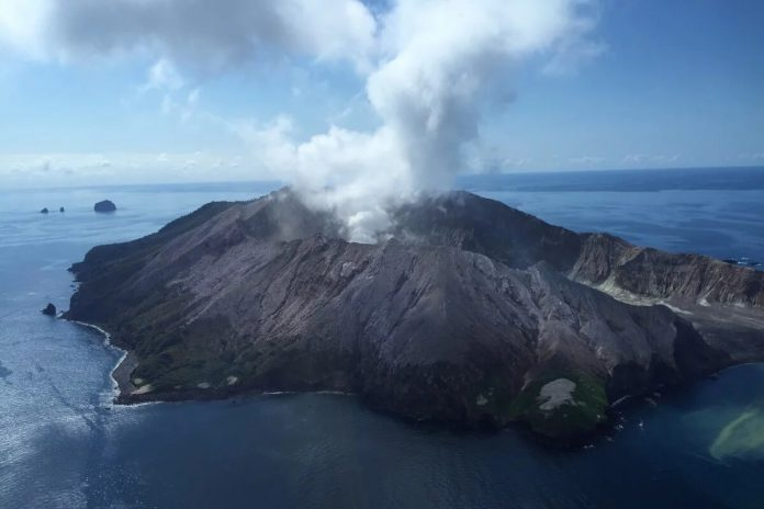Gunung Vulkanik di Selandia Baru