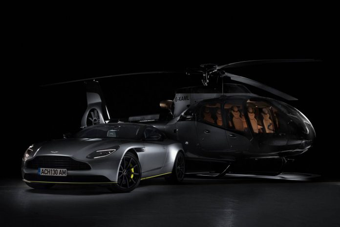 Airbus dan Aston Martin Bikin Helikopter Mewah