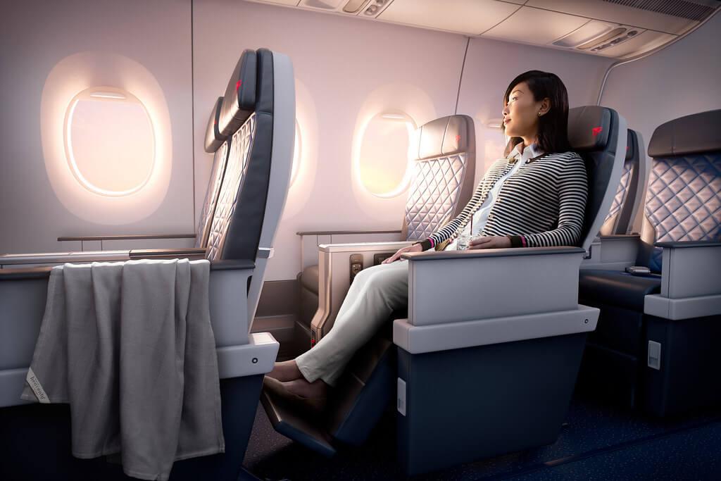 selimut pesawat