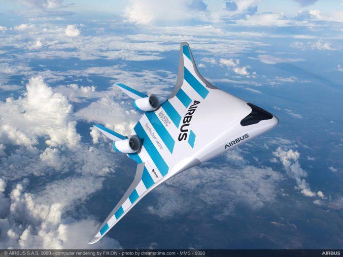 Airbus Geber Desain Pesawat Mirip Ikan Pari