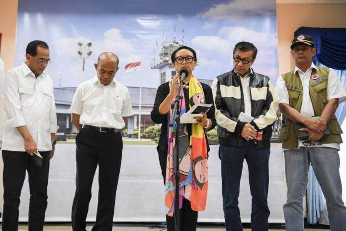 Indonesia larang dari dan ke China
