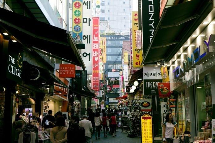 Myeongdong Street Korea