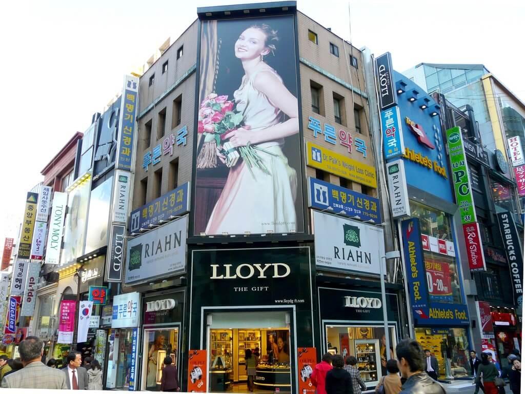 Belanja di Myeongdong Street Korea